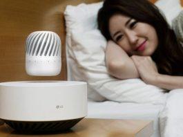 LG levitation speaker