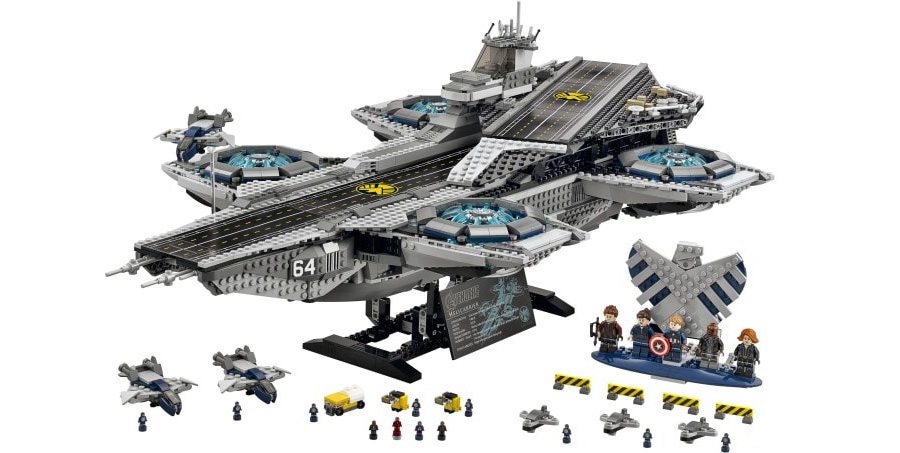 Lego SHIELD Hellicarrier 76042